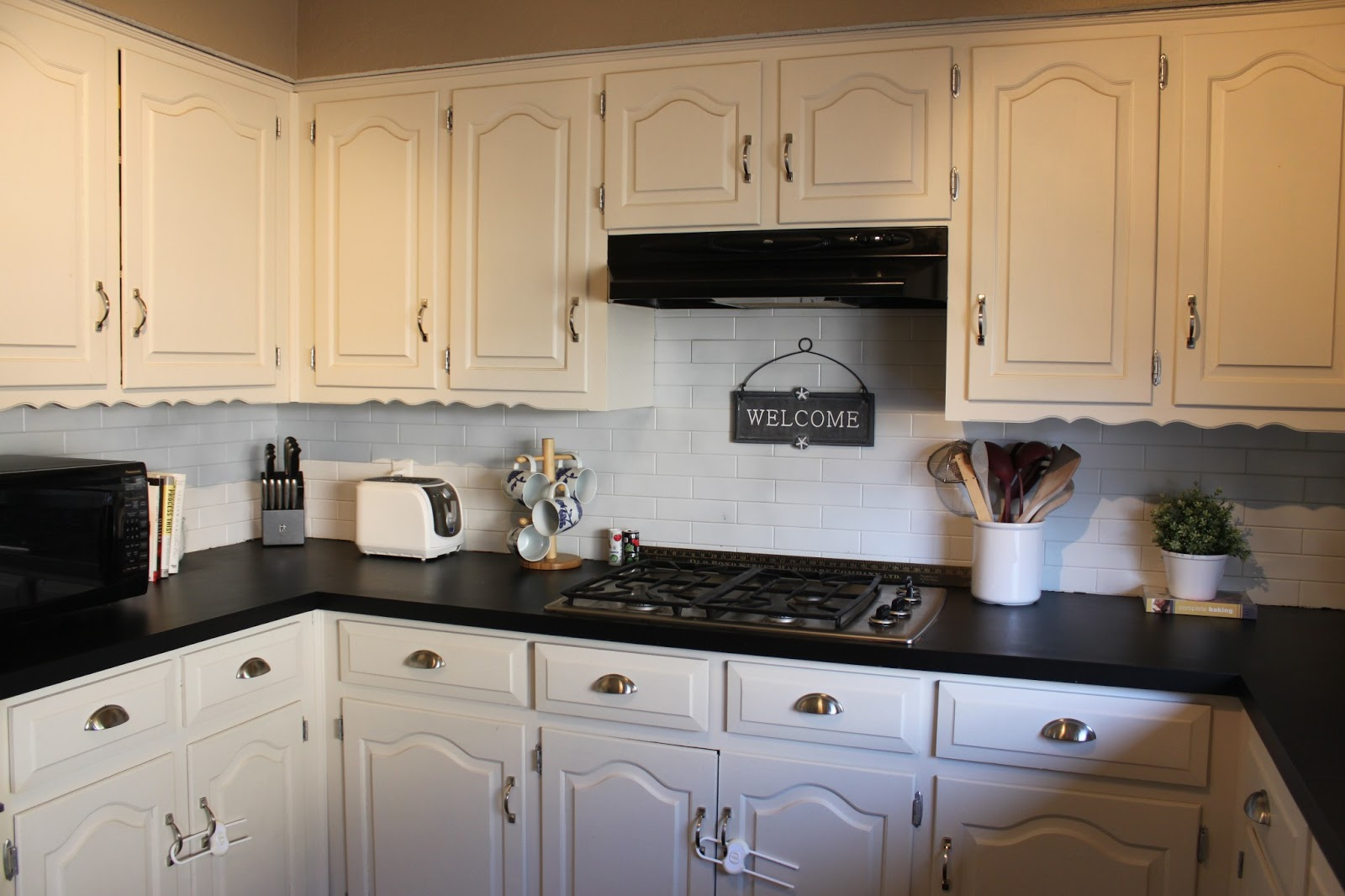 March Orchard Chalkboard Countertops Update