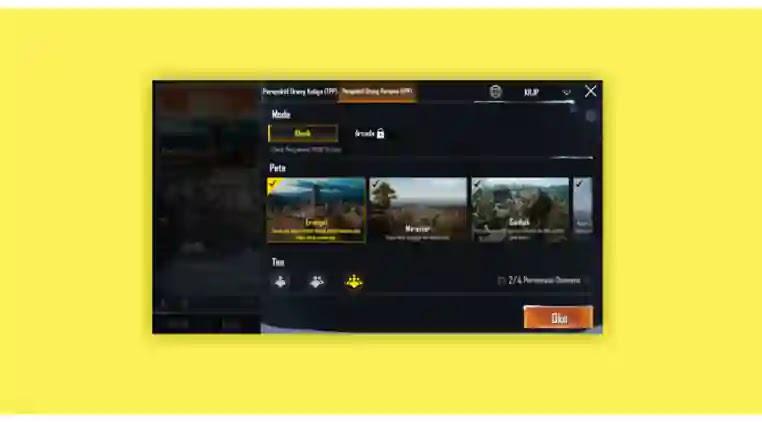 Cara main bertiga di PUBG Mobile