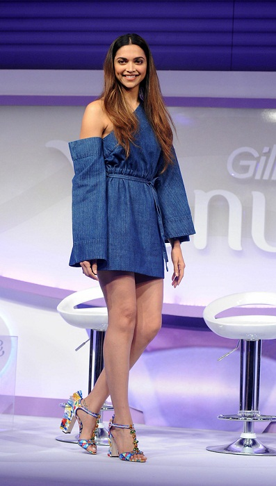 Deepika Padukone at Gillette Breeze Launch