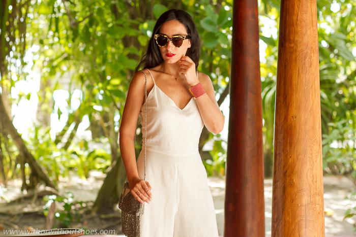 Blogger influencer española de Valencia de Vacaciones en Maldivas