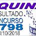 Resultado da Quina concurso 4798 (10/10/2018) ACUMULOU!!!