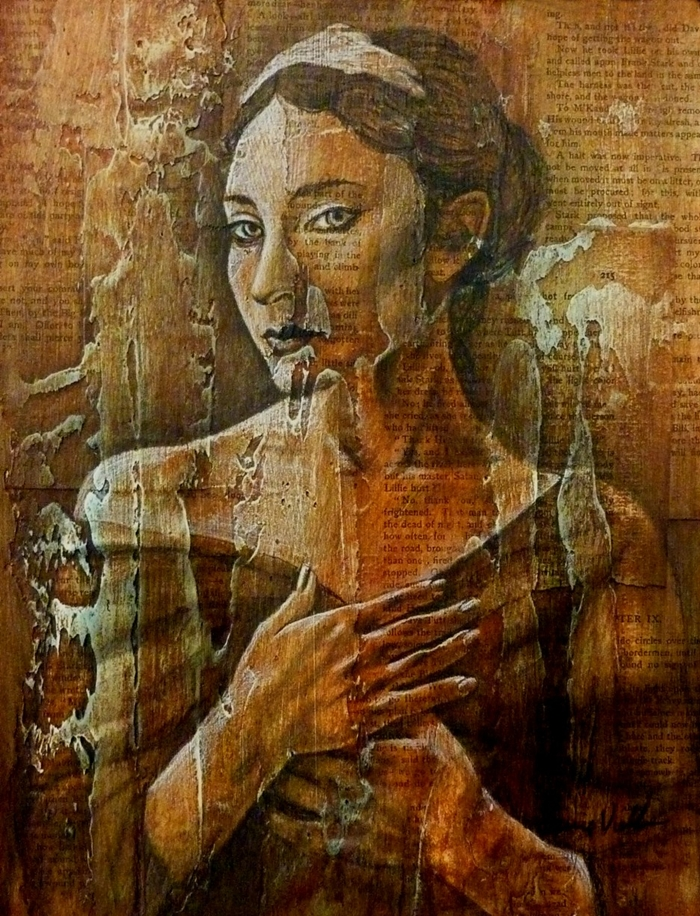 Carrie Vielle | Canadian Mixed media painter
