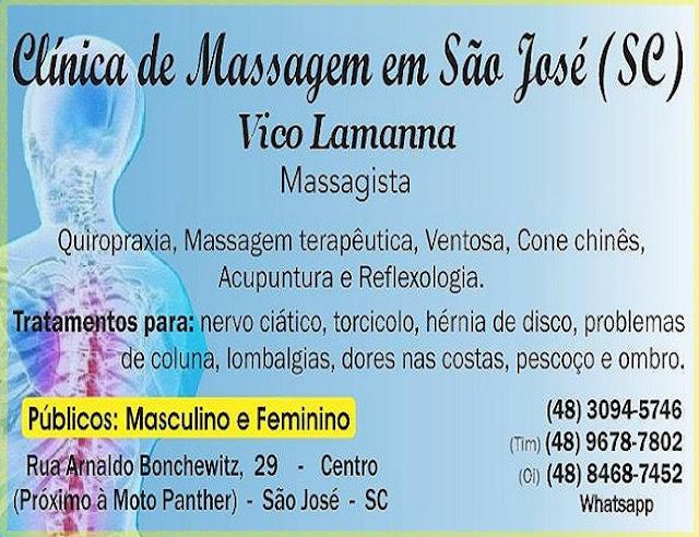 Nervo Ciático - Massagem Terapêutica em São José SC - Centro - Grande Florianópolis (48) 3094-5746