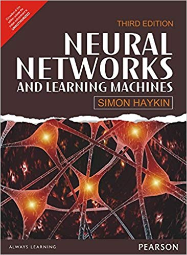 Book on Neural Networks and Learning Machines