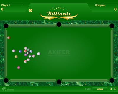 Billiards free online game venha jogar