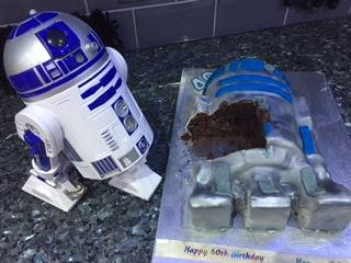 Lakeland R2D2 cake