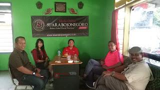 Jalin Silaturrahmi & Komunikasi, Perwakilan PEPC Berkunjung Ke Kantor Media Suara Bojonegoro
