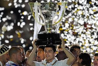 Ronaldo win La Liga title