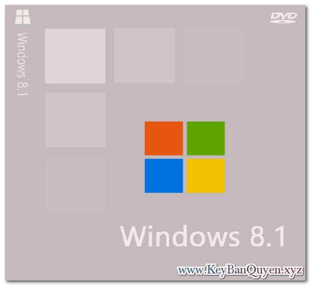Mua bán key bản quyền Windows 8.1 Full 32 và 64 Bit