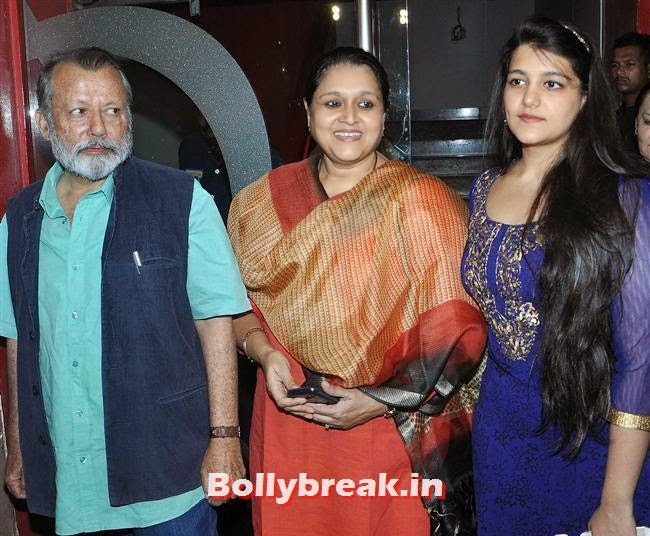 Pankaj Kapoor and Supriya PAthak, Ankhon Dekhi Movie Premiere Pics