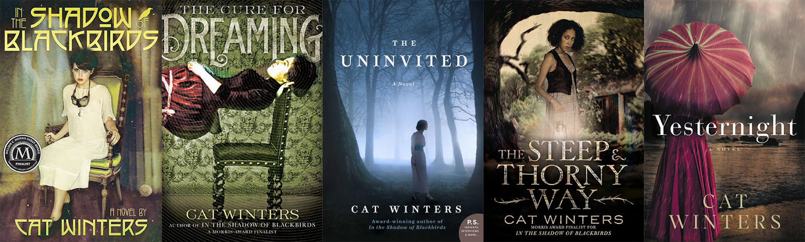 carinas books cover reveal yesternight by cat winters