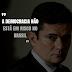 'A democracia não está em risco no Brasil', diz Moro
