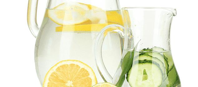agua para depurar el colon