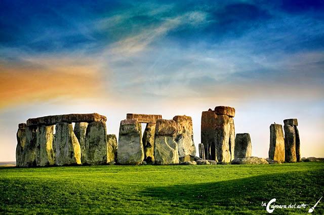 Crmlech de Stonehenge  La cmara del arte