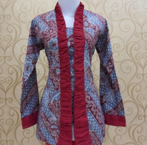 Download Image Model Baju Batik Kerja Modern Pulaubatik PC