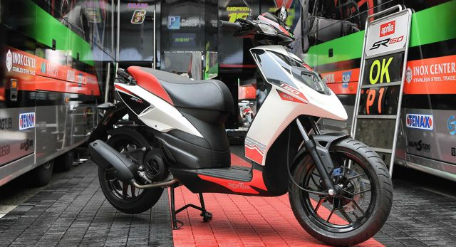 aprilia sr150 price specifications review