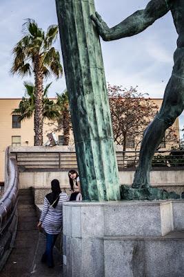 Fragmento de la estatua de Hércules en Ceuta