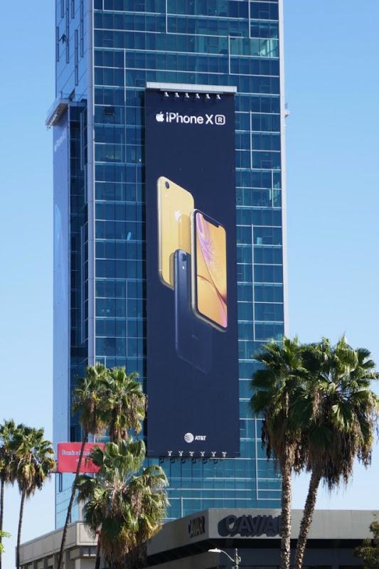 iPhone XR billboard