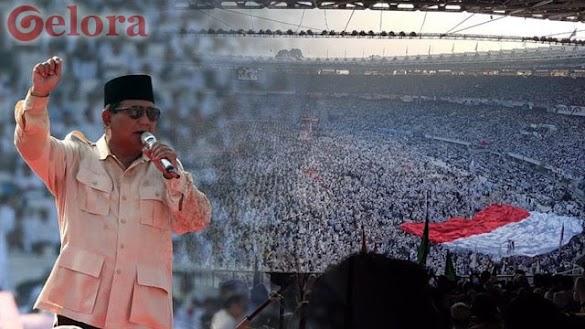 Kampanye Akbar Prabowo di GBK Membungkam Kubu 01, Secara de facto Jokowi Sudah Kalah