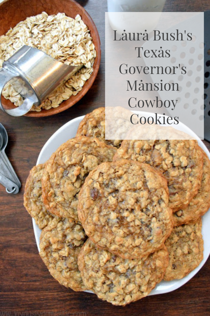 #Laurȧ #Bush's #Texas #Governor's #Mansion #Cowboy #Cookies