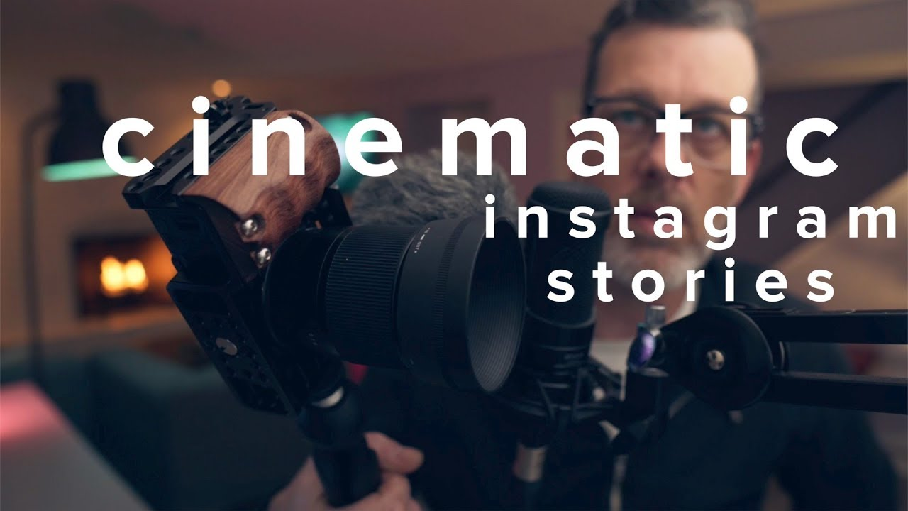 How to make better CINEMATIC Instagram Stories
