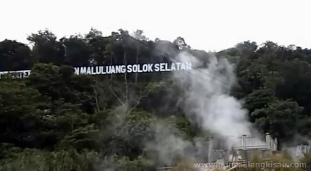 Objek Wisata Hot Water Boom Sapan Maluluang