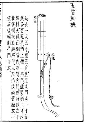 Ming Dynasty Pepperbox Handgonne
