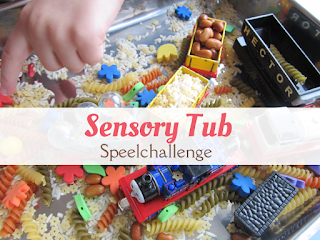sensory tub - speelidee
