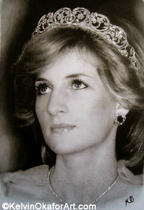 20-Diana-Spencer-Princess-of-Wales-Kelvin-Okafor-Celebrity-Portrait-Drawings-Full-of-Emotions-www-designstack-co