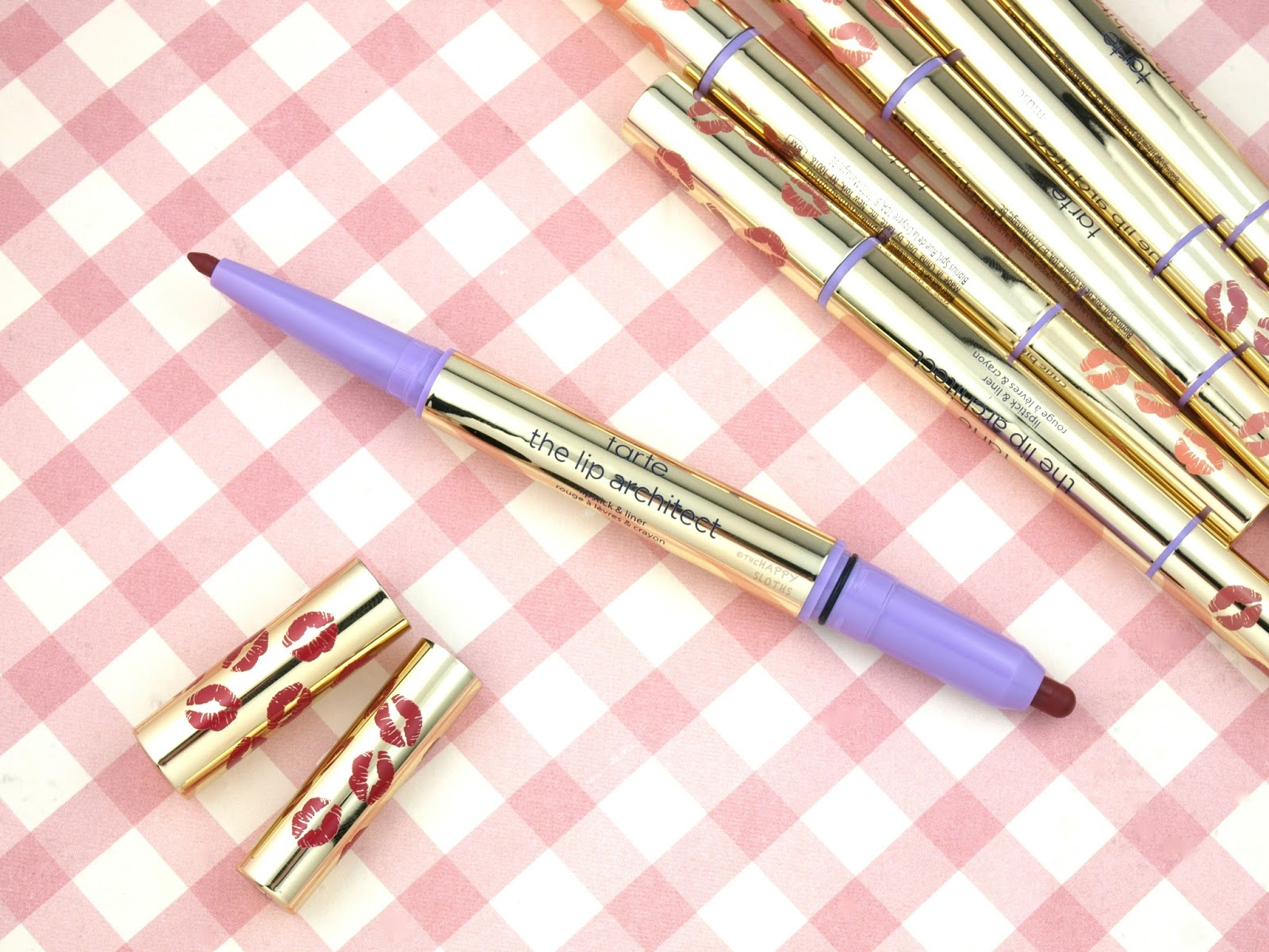 Tarte The Lip Architect Lipstick & Liner: Review and Swatches