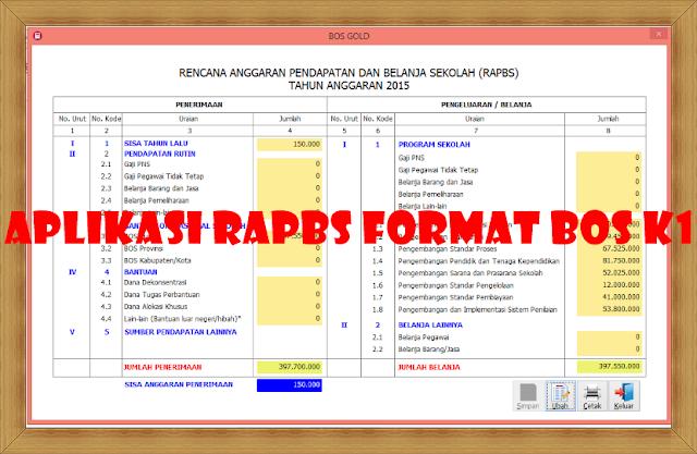 Download Aplikasi RAPBS Format Bos K1 Versi Terbaru