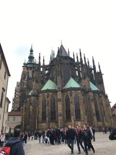 prague czech republic wanderlust travelblog europe back of st vitus cathedral