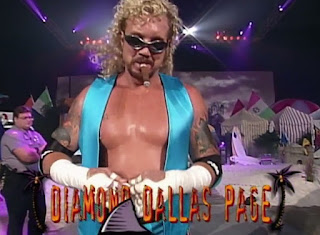 WCW REVIEW - BASH AT THE BEACH 1996 - Diamond Dallas Page faced Jim Duggan in a taped fist match