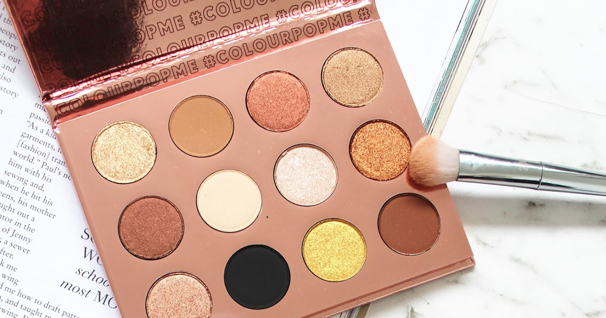 colourpop pressed shadows how to get a pallate