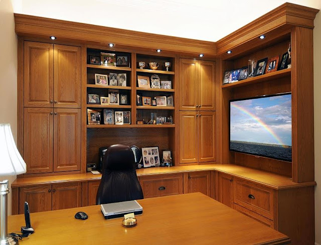 best custom made home office desk wood for sale online