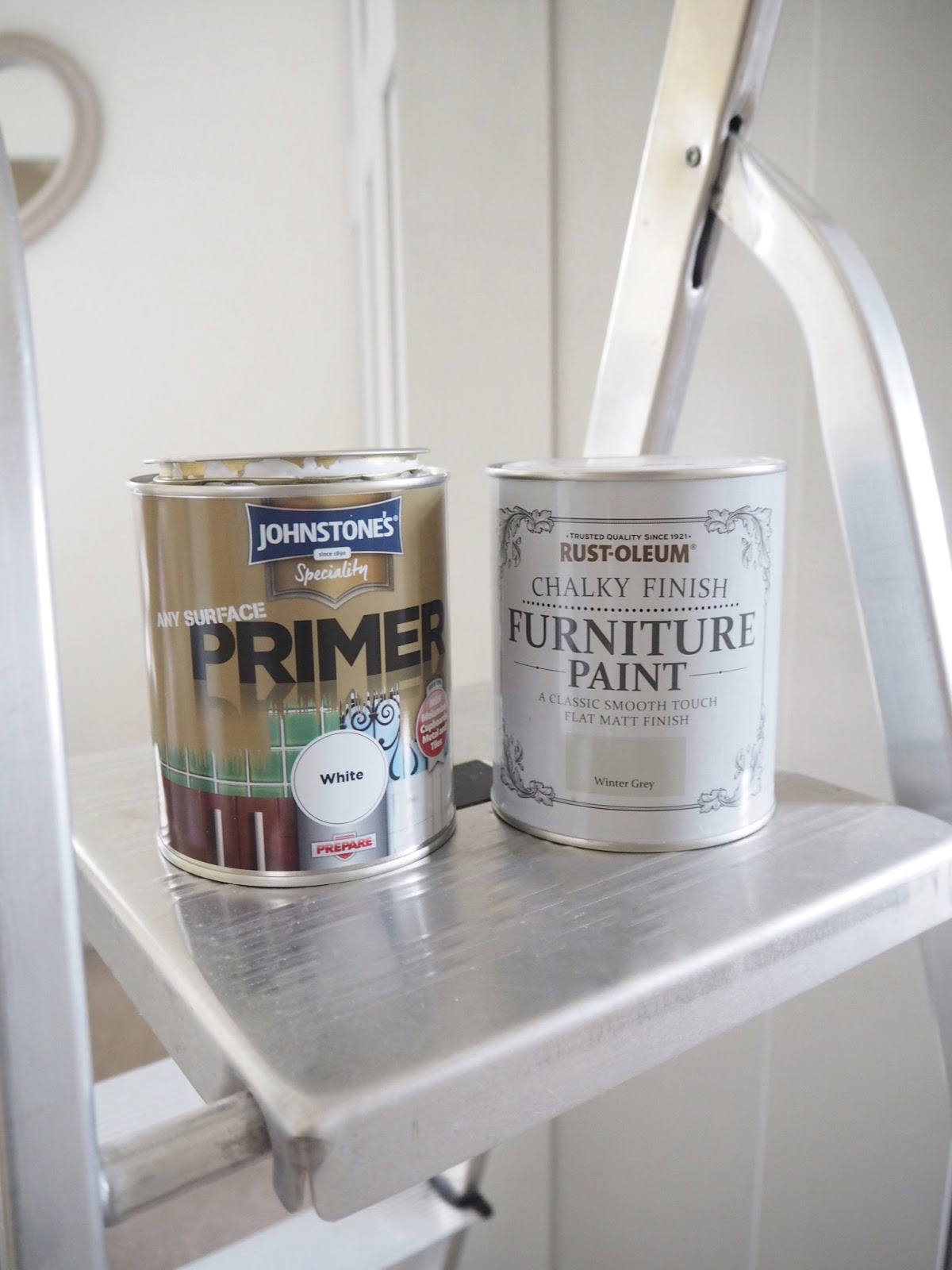 How To Paint Mdf Laminate Melamine Wardrobes Using Rustoleum Chalk And Primer Create A