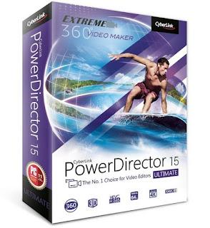 CyberLink PowerDirector Ultimate 15.0.2309.0 (Esp)(Suite Edición de Videos)