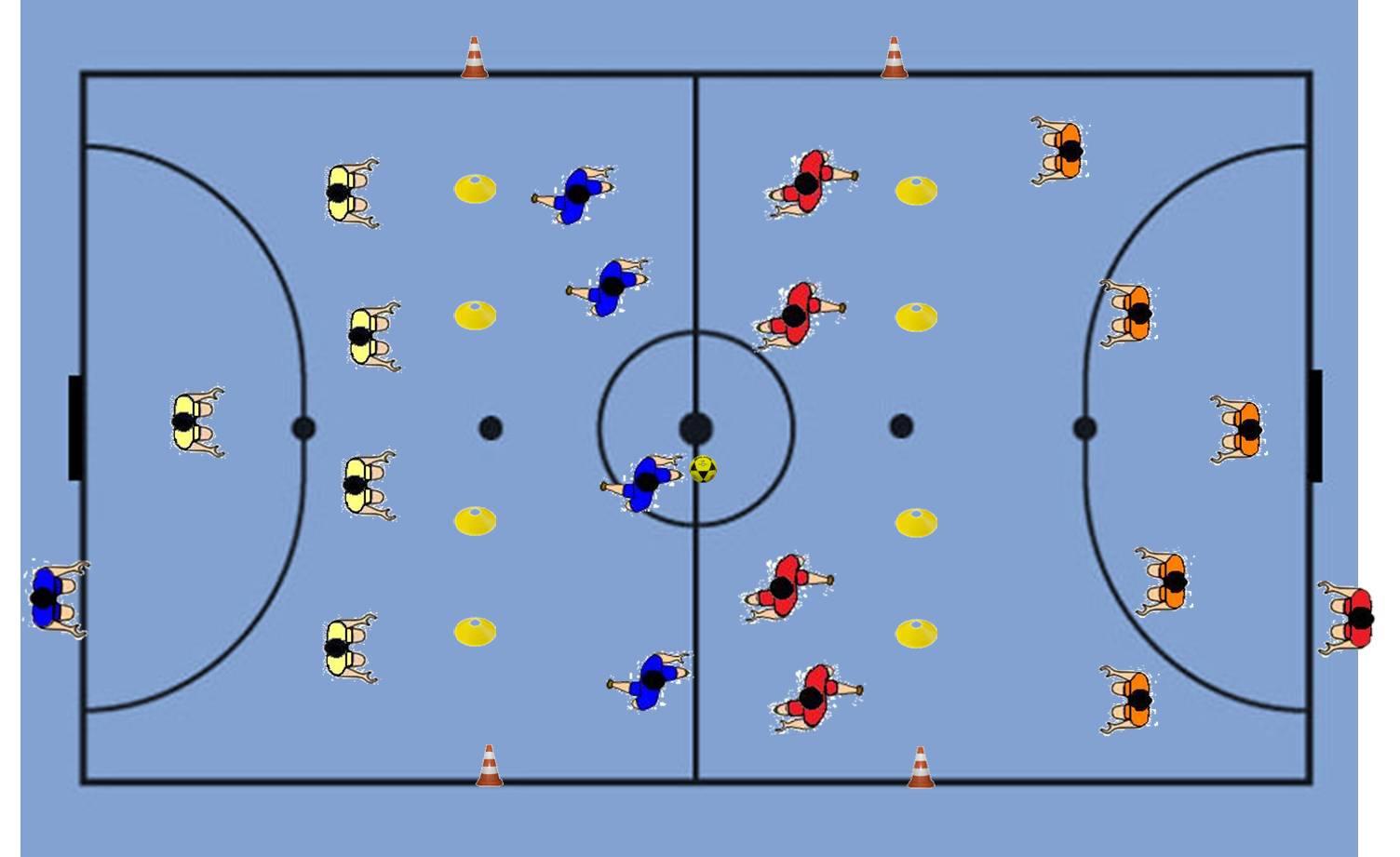 15cad79119 Livro de Exercícios para Educação Física  Futsal - Atividade Lúdica ...
