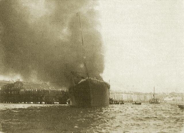 La Tragica Explosión del Machichaco (Santander)
