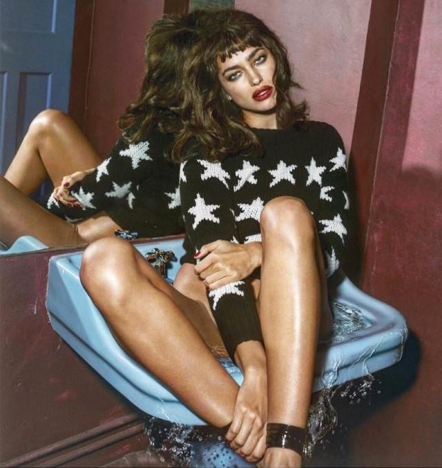 Irina Shayk en Vogue magazine