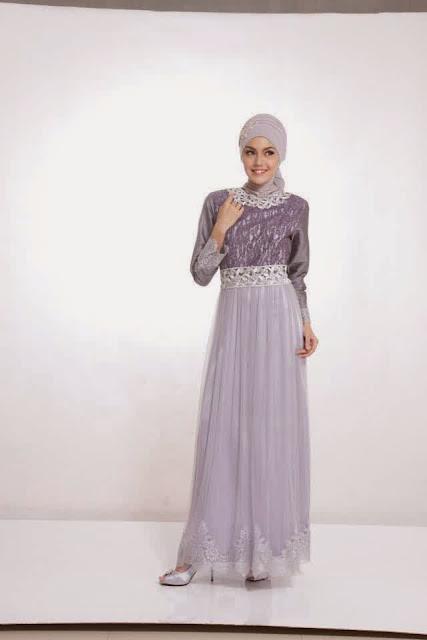 Baju Muslim Brokat untuk ke Pesta