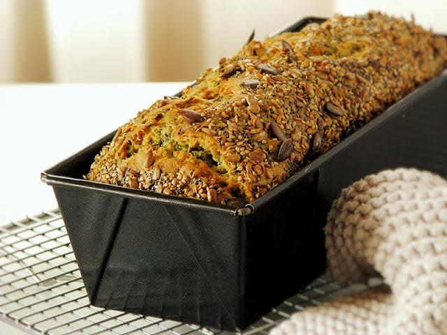 recette de cake aux épinards et feta