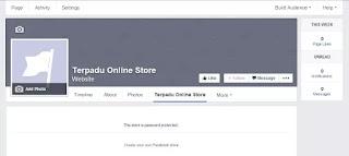 Membuat Toko Online Gratis Dari Facebook