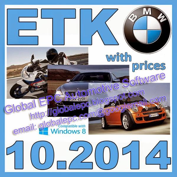 Global Epc Automotive Software Bmw Mini Etk 102014 Epc Parts