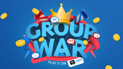 Mendapatkan Uang di BBM Group War via dompet digital DANA