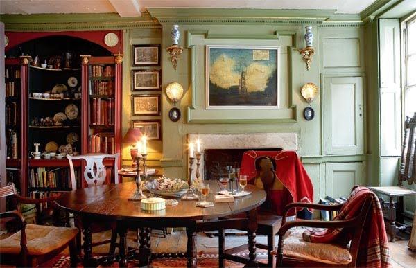 Quot Tweedland Quot The Gentlemen S Club Dan Cruickshank S House