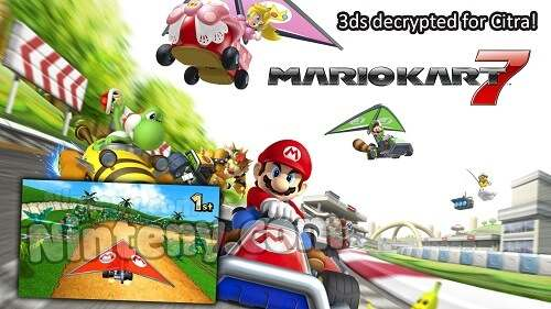 Mario Kart 7 3DS Decrypted