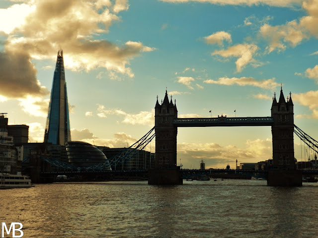 tower bridge e the shard