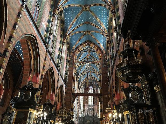 Cracovia fotos interior Santa María