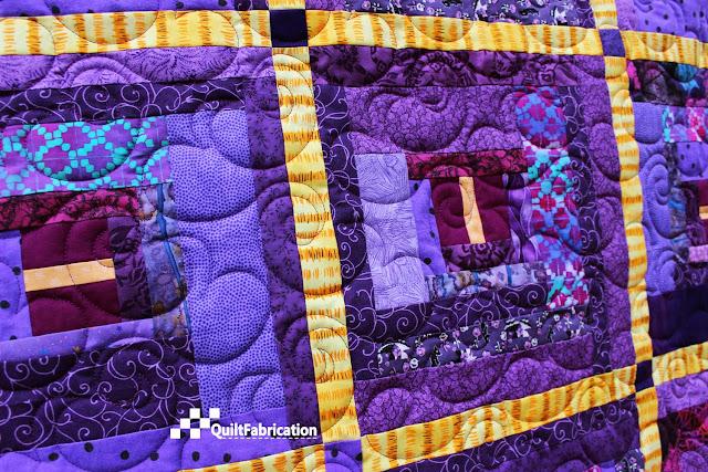 Violet Riot closeup